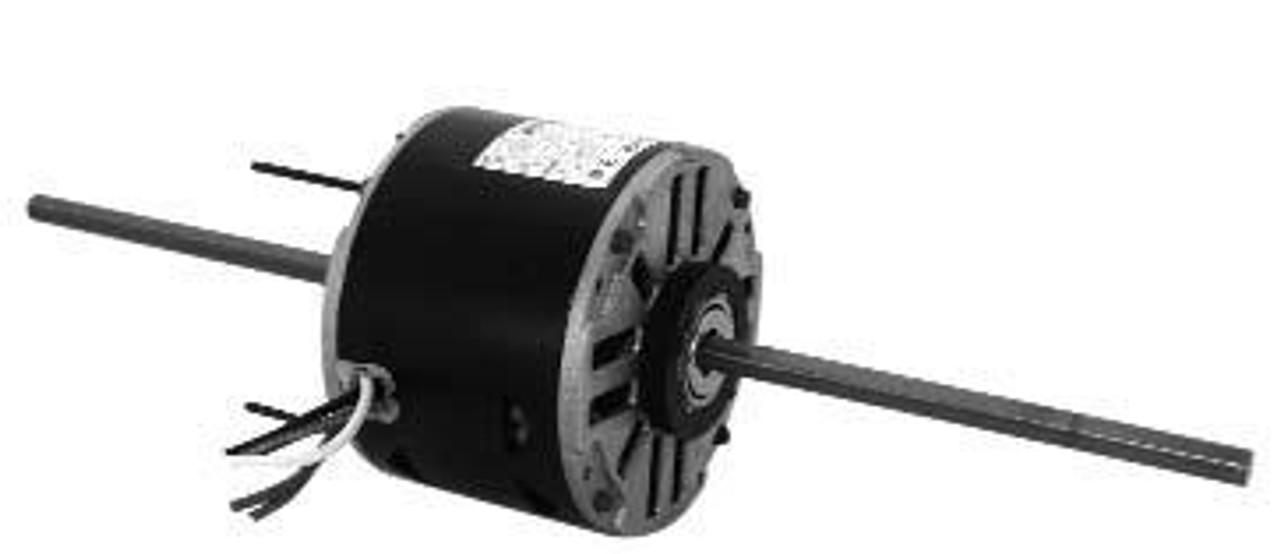 """9682 5-5/8"""" Diameter Double Shaft Fan/Blower Motor 1/8 HP"""