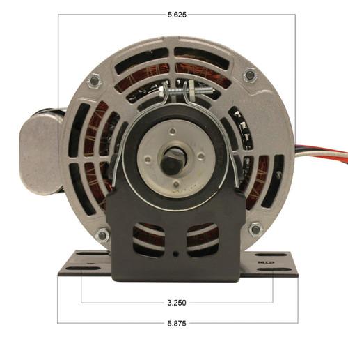 P9584 Trane Motor (X70370241010, 5KCP39MGB434X) 1/4 hp 1075 RPM 115V