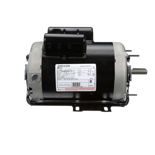 C343 Capacitor Start Resilient Base Motor 1 HP