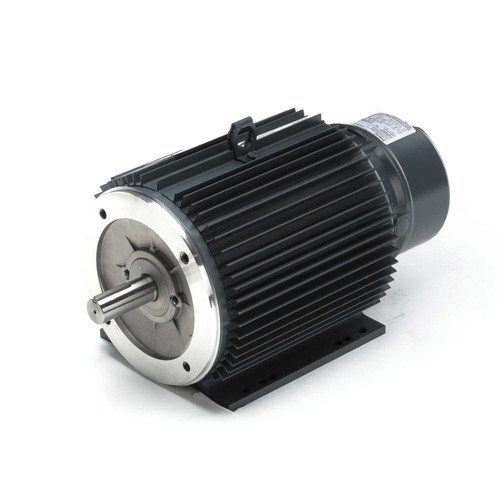 C404A Brake Three Phase Totally Enclosed C-Face Motor 2 HP