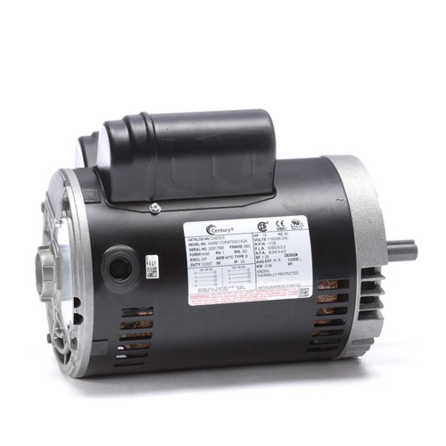C665ES Single Phase Dripproof Motor 3/4 HP