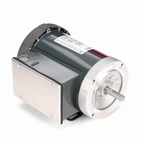MD314 Single Phase Totally Enclosed C-Face Removable Base Motor 1 1/2 HP
