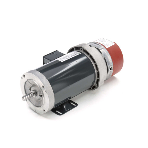 MD456A Three Phase Totally Enclosed Brake C-Face Footed Motor 1 HP