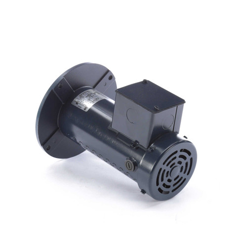 DC110 Permanent Magnet SCR Rated Totally Enclosed C-Face Motor 1/4 HP