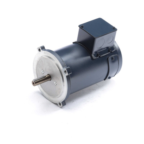 DC112 Permanent Magnet SCR Rated Totally Enclosed C-Face Motor 1/3 HP