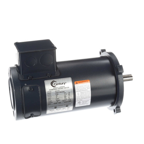 DC114 Permanent Magnet SCR Rated Totally Enclosed C-Face Motor 1/2 HP