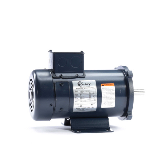 DC121 Permanent Magnet SCR Rated Totally Enclosed C-Face Motor 1/2 HP
