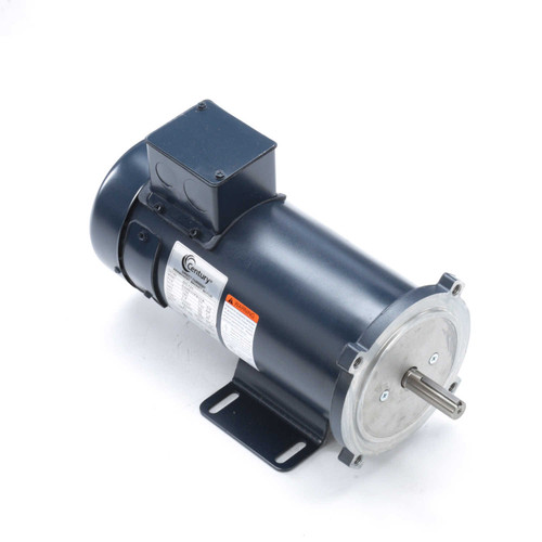 DC131 Permanent Magnet SCR Rated Totally Enclosed C-Face Motor 3/4 HP