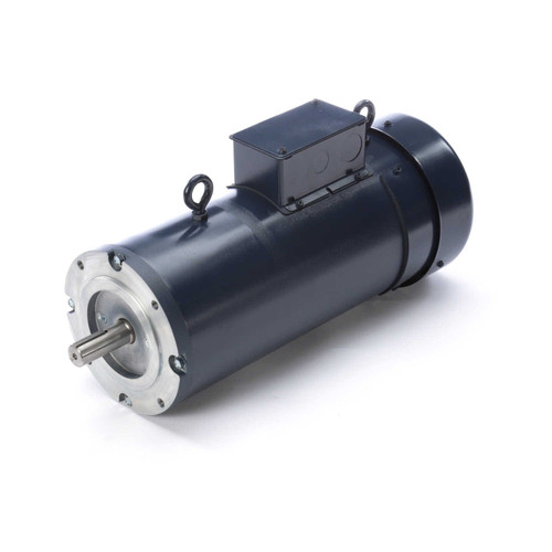 DC142 Permanent Magnet SCR Rated Totally Enclosed C-Face Motor 1 1/2 HP