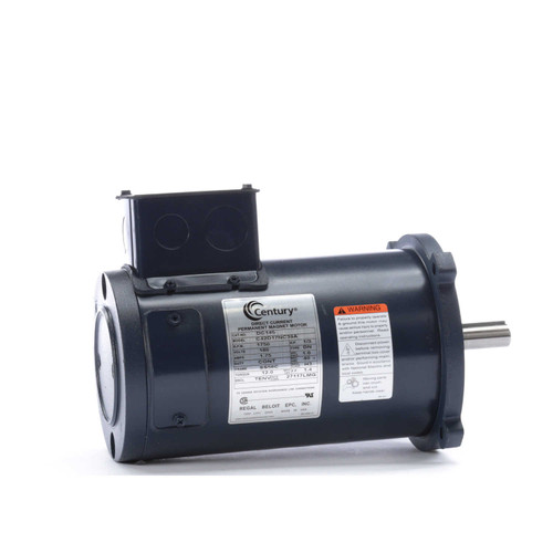 DC145 Permanent Magnet SCR Rated Totally Enclosed C-Face Motor 1/3 HP
