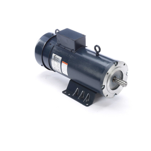DC158 Permanent Magnet SCR Rated Totally Enclosed C-Face Motor 2 HP