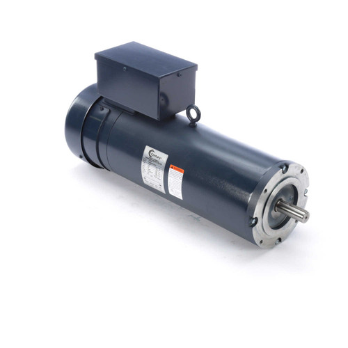 DC161 Permanent Magnet SCR Rated Totally Enclosed C-Face Motor 3 HP