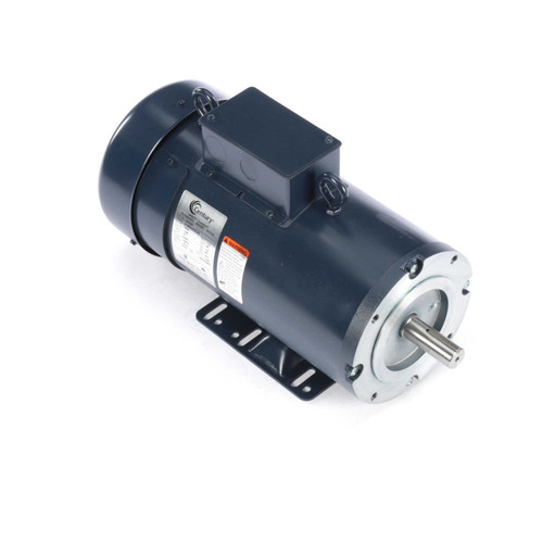 DC163 Permanent Magnet SCR Rated Totally Enclosed C-Face Motor 1 1/2 HP