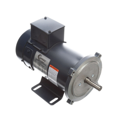 DC130 Permanent Magnet SCR Rated Totally Enclosed C-Face Motor 1/2 HP