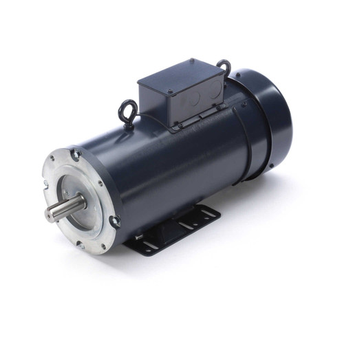 DC164 Permanent Magnet SCR Rated Totally Enclosed C-Face Motor 2 HP