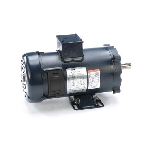 DC165 Permanent Magnet SCR Rated Totally Enclosed C-Face Motor 1 HP