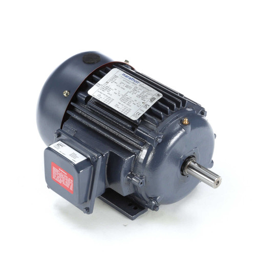 GT1007 Globetrotter Three Phase Totally Enclosed Rigid Base Motor 2 HP