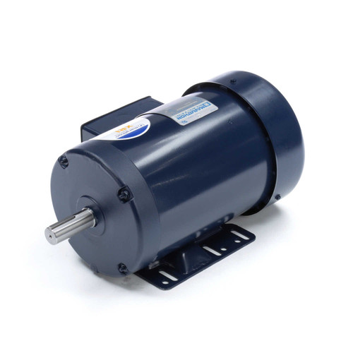 E2102 Three Phase Totally Enclosed Rigid Base Motor 1 HP