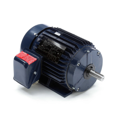 E2207-P Three Phase Totally Enclosed Rigid Base Motor 2 HP