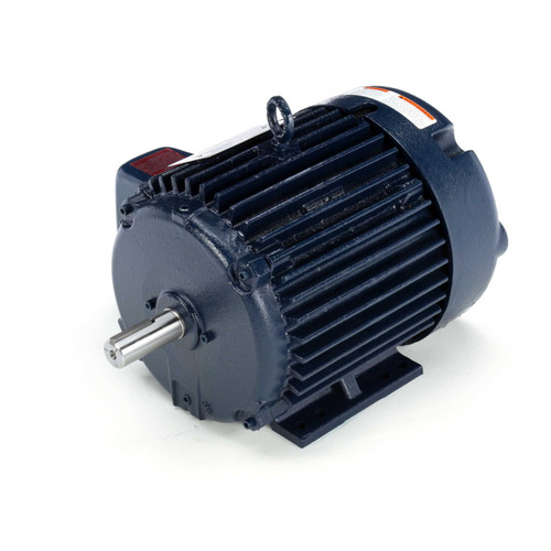 E2210-P Three Phase Totally Enclosed Rigid Base Motor 3 HP