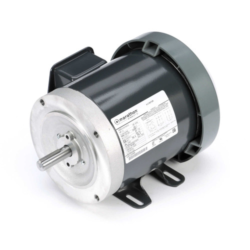 MK1324 Three Phase Four-In-One Totally Enclosed Motor 1/2 HP
