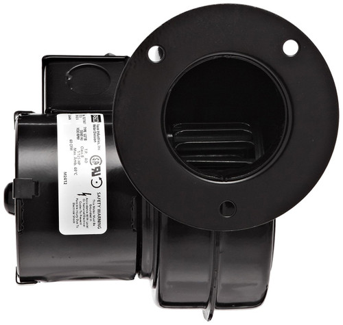 (opened box) 50747-D401 Centrifugal Blower with Sleeve Bearing, 3200 rpm, 115V, 50/60Hz, 0.49 Amps