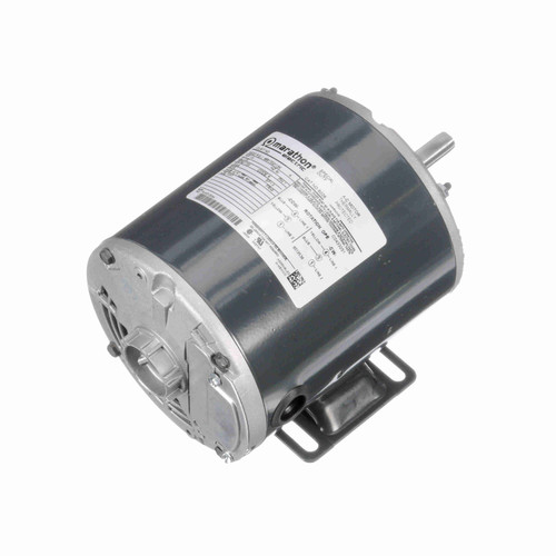 1/3 hp 1800 RPM 48 Frame 115V Open Drip Marathon Electric Motor # S026