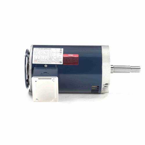 1 1/2 hp 3 phase 1800 RPM 145JMV Frame 230/460V ODP Marathon Close Coupled Pump Motor # GT4104