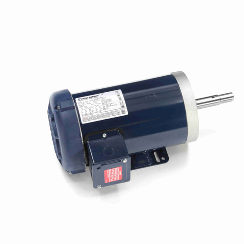 3 hp 3 phase 3600 RPM 145JM Frame 230/460V TEFC Marathon Close Coupled Pump Motor # U363A