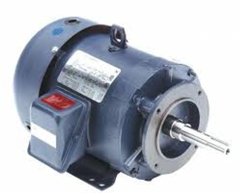 3 hp 3 phase 1800 RPM 182JM Frame 230/460V TEFC Marathon Close Coupled Pump Motor # GT3110