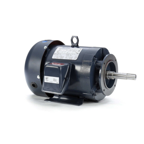 5 hp 3 phase 1800 RPM 184JM Frame 230/460V TEFC Marathon Close Coupled Pump Motor # GT3113