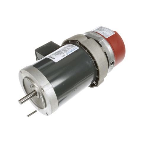1/2 hp 3 phase 1800 RPM 56C Frame 208-230/460V TEFC Marathon Electric Brake Motor # K468