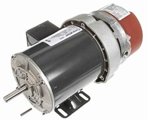 K455 1/2 hp 3 phase 1800 RPM 56C Frame 208-230/460V TEFV Marathon Electric Brake Motor