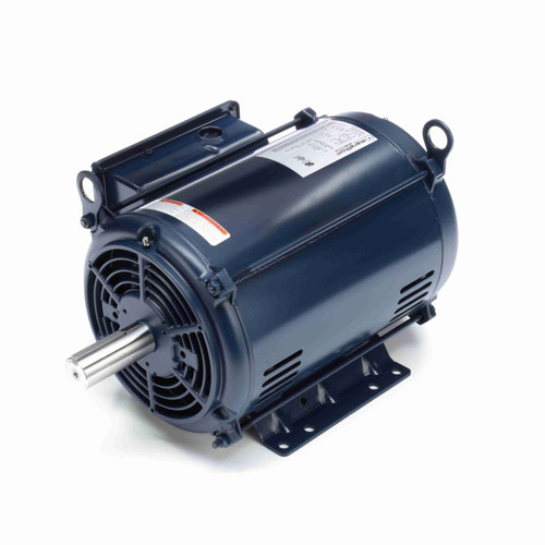 I106 10 hp 3600 RPM 215T Frame 208-230V Open Drip Marathon Electric Motor