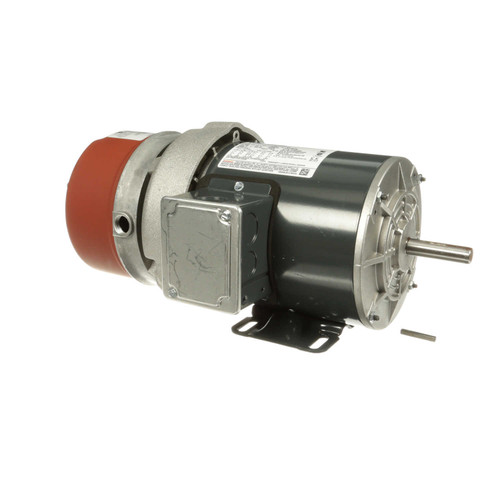 K435 1/2 hp 3 phase 1200 RPM 56C Frame 230/460V TEFC Marathon Electric Brake Motor