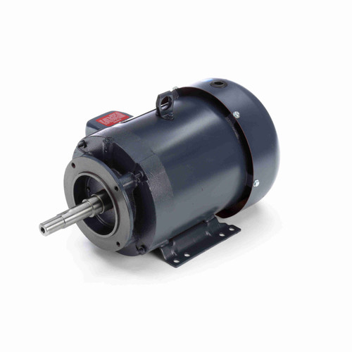 5 hp 3 phase 3600 RPM 184JM Frame 575V TEFC Marathon Close Coupled Pump Motor # GT3212