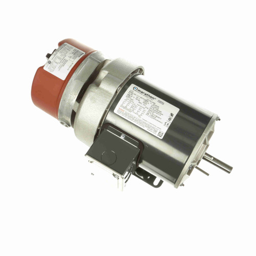 K436 3/4 hp 3 phase 1800 RPM 56C Frame 208-230/460V TEFV Marathon Electric Brake Motor