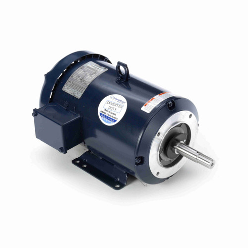 7 1/2 hp 3 phase 3600 RPM 184JM Frame 230/460V TEFC Marathon Close Coupled Pump Motor # U360A