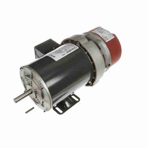 K437 3/4 hp 3 phase 1200 RPM 56C Frame 208-230/460V TEFV Marathon Electric Brake Motor