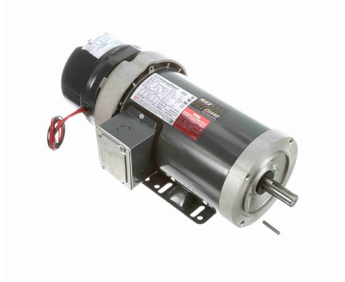 C403A 2 hp 3 phase 1800 RPM 145TC Frame 230/460V TEFC Marathon Electric Brake Motor