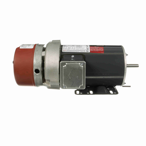 K440 1 1/2 hp 3 phase 1800 RPM 56C Frame 230/460V TEFC Marathon Electric Brake Motor