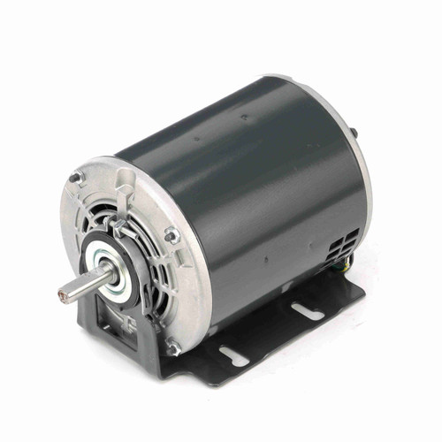 1/3 HP Fan and Blower HVAC/R Motor, 1 phase, 1800 RPM, 115 V, 48 Frame, ODP - D143