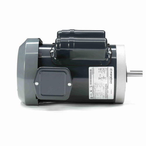 (opened box) Single Phase Totally Enclosed C-Face Motor 1-1/2 HP # G1531