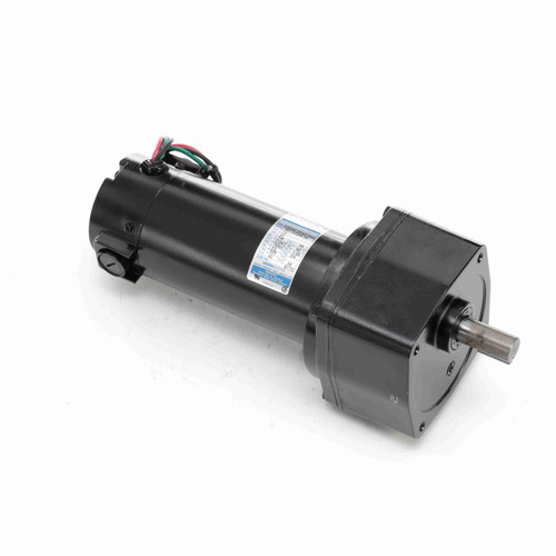 (opened box) Leeson Parallel Shaft 1/4 hp, 42 RPM 12VDC TENV Electric Gear Motor # M1135244