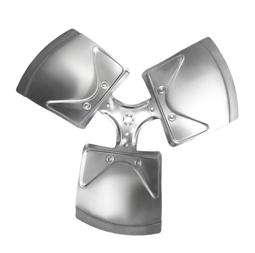 X1803-32LA Revcor, 18 Inch, three wing, 32 degree pitch, 1/2 Hub, CCW, Axial Fan Blade