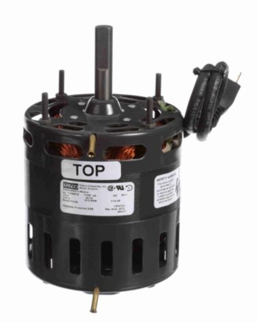 D1039, Fasco Direct Drive Blower Motor, 41649 HP, 1610 RPM, 4.4 DIA, Open, 115V