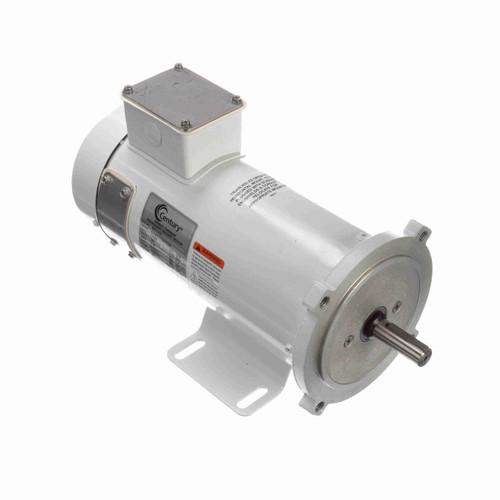 DC152, TEFC 3/4 HP Washdown Duty DC Motor, 1750 RPM, 90 V, 56C Frame