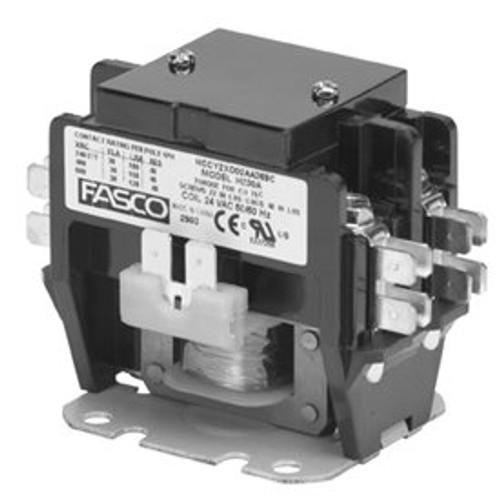 H230a  2 Pole  30 Amp  24v Coil Fasco Contactor