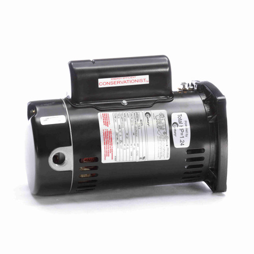 QC1102 1 hp, Square flange Energy saver pool motor