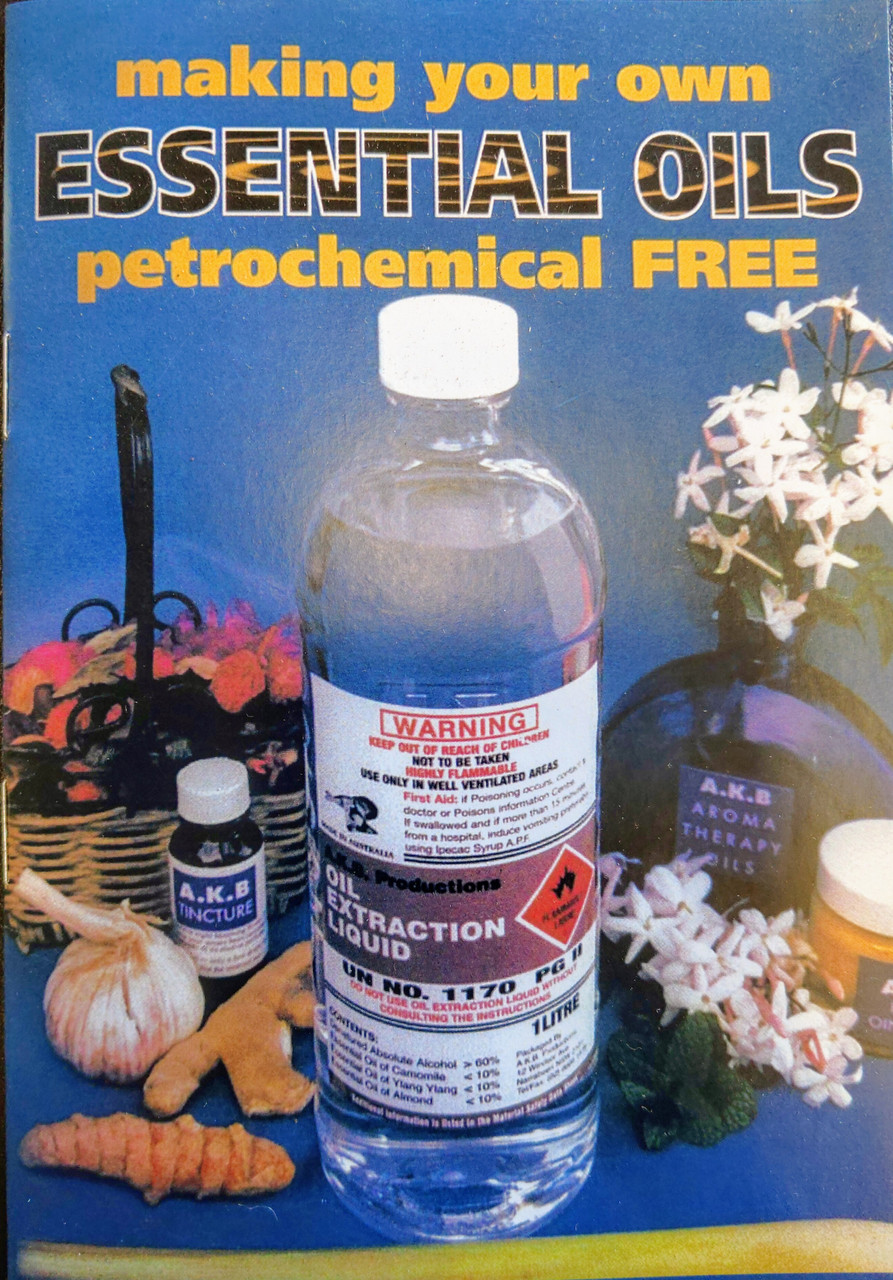 OIL EXTRATION INFORMATION BOOKLET